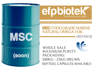 MSC FOOD GRADE MARINE NATURAL OMEGA 3 OIL