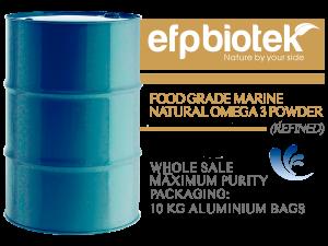 ood Grade marine natural Omega 3 POWDER