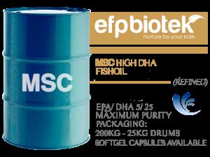 MSC High DHA Fishoil